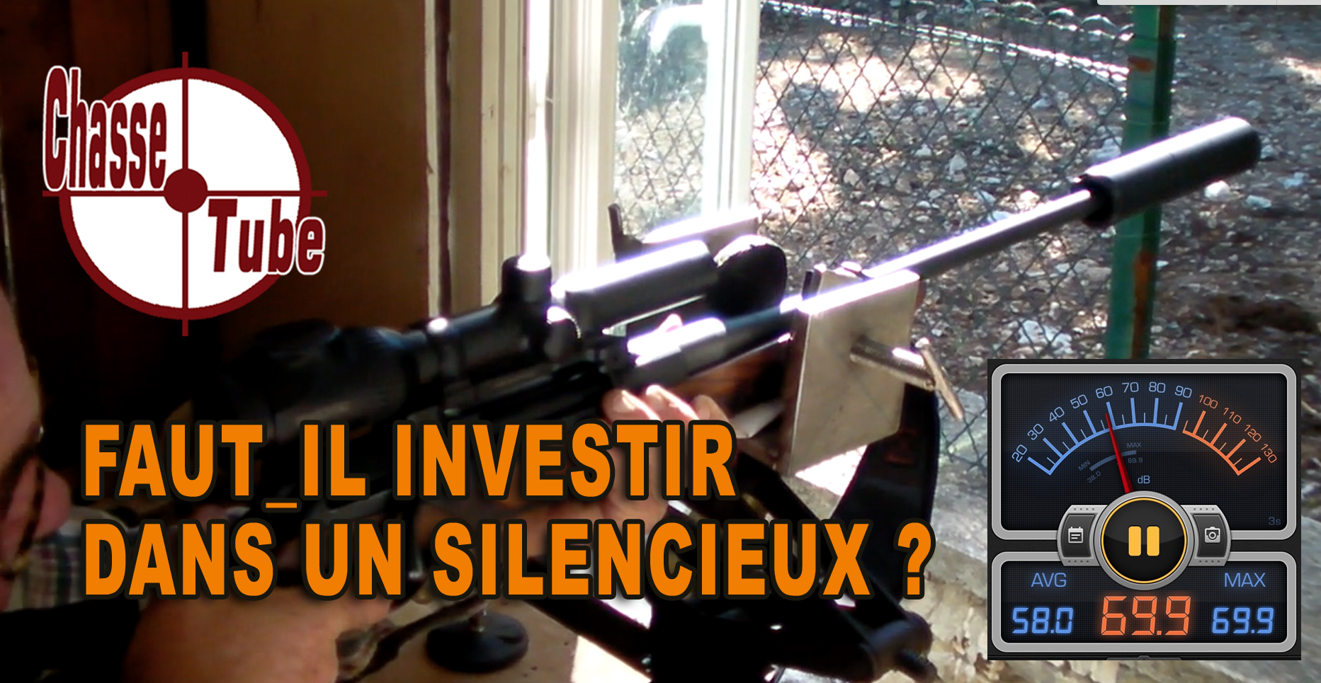 silencieux chasse